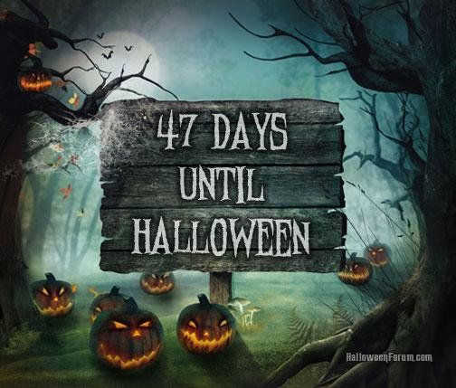 How Many More Days Until Halloween | 47 Days Until Halloween Pictures Photos And Images For Facebook