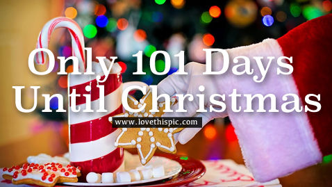 Only 101 Days Until Christmas Pictures