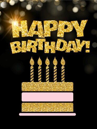 Golden Glitter Happy Birthday Pictures Photos And Images
