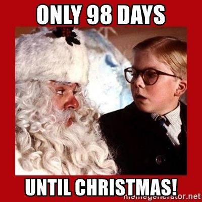 Days Till Christmas Meme.Only 98 Days Until Christmas Pictures Photos And Images