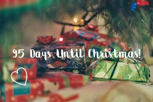95 days until christmas