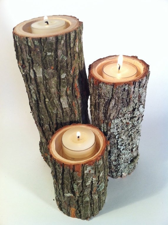 Diy Autumn Tree Branch Candles Pictures Photos And