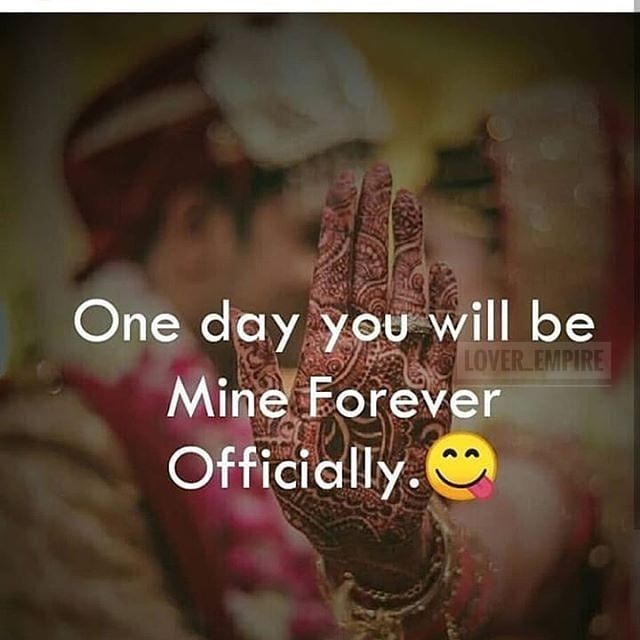 One Day You Will Be Mine Forever Officially Pictures