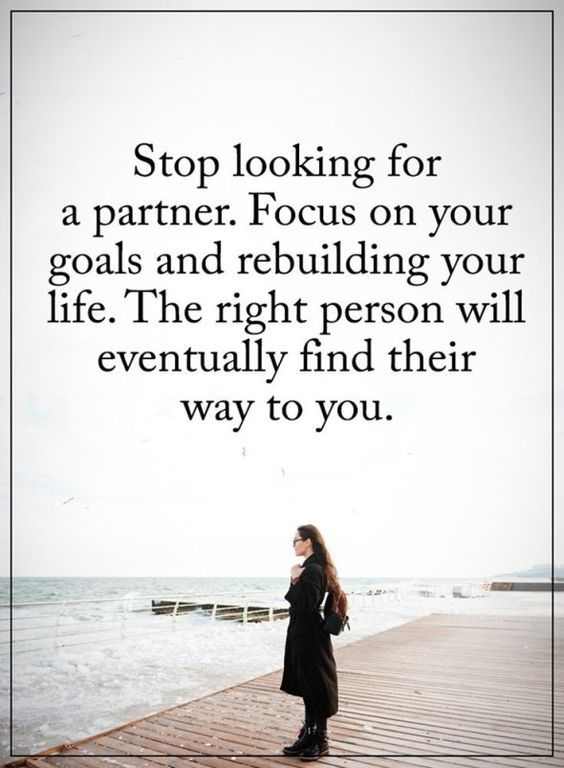 Stop Looking For A Partner Pictures, Photos, and Images