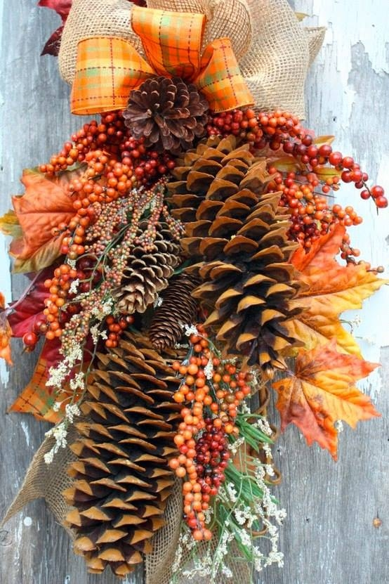 Autumn decoration pictures photos and images for for Autumn decoration