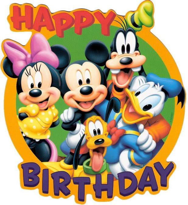Mickey & Friends Happy Birthday Image Pictures, Photos