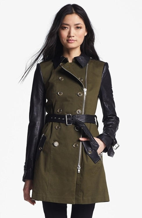 Belted Military Style Trench Coat Pictures Photos And