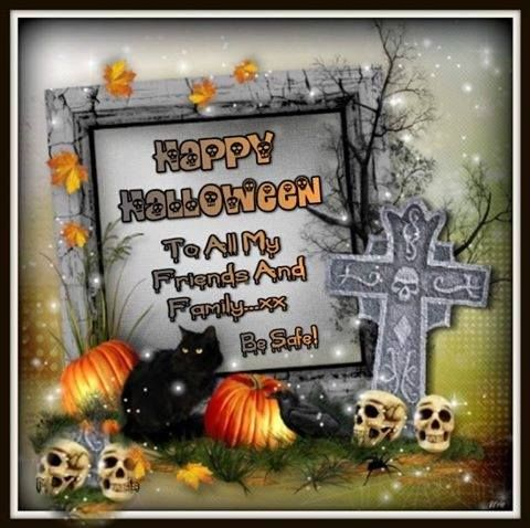 To All My Friends And Family. Happy Halloween Pictures