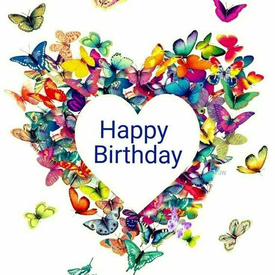 Heart Butterflies Happy Birthday Quotes Pictures, Photos