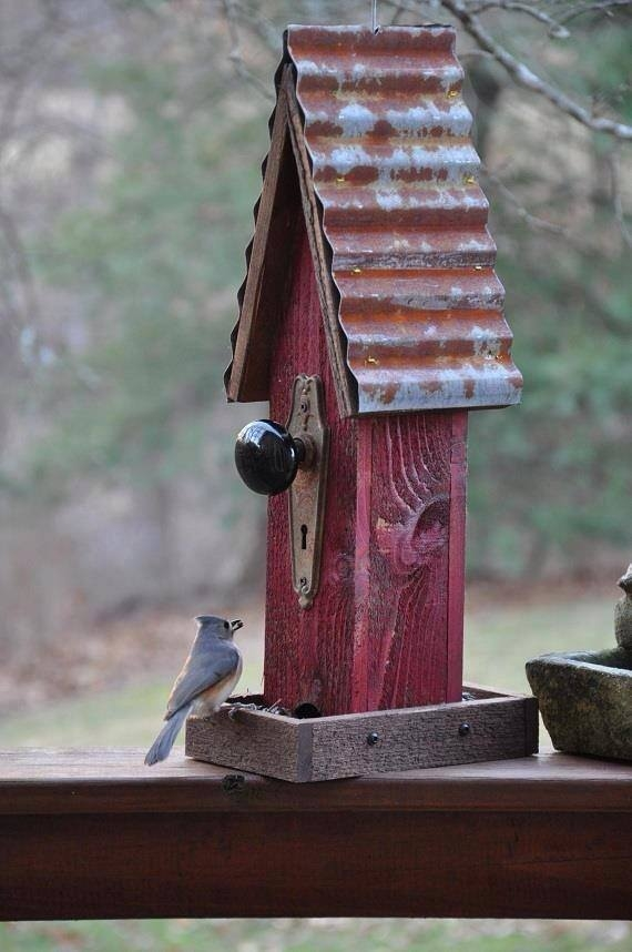 Recycled Bird Feeder Pictures, Photos, and Images for Facebook, Tumblr, Pinterest, and Twitter