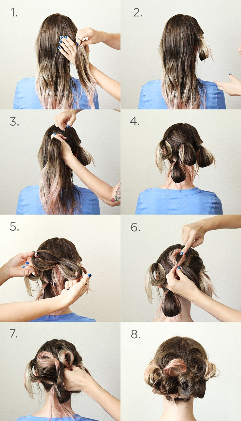 DIY Simple Updo Pictures, Photos, and Images for Facebook, Tumblr ...