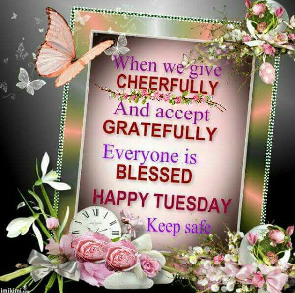 When We Give Cheerfully And Accept Gratefully, Everyone Is
