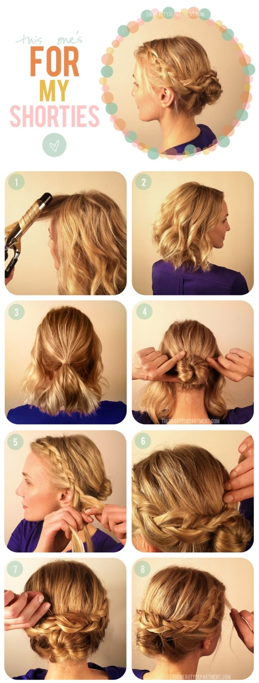 Short hair braidHair Tumblr Braid