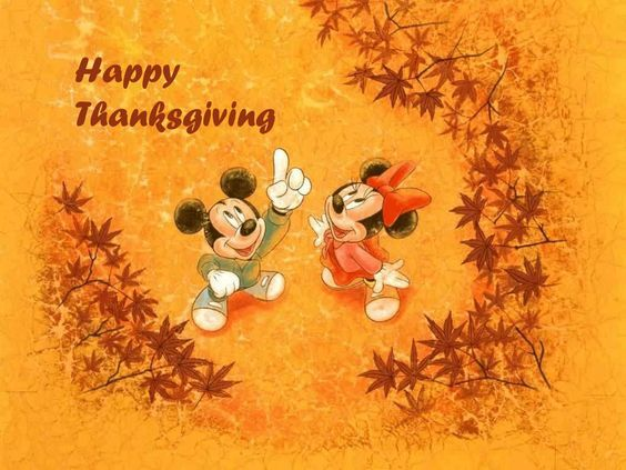 Mickey Minnie Mouse Happy Thanksgiving Quote Pictures Photos And Images For Facebook Tumblr Pinterest And Twitter