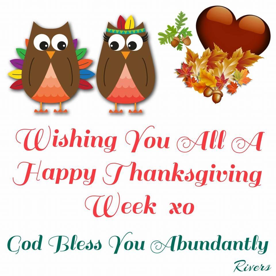 Bildergebnis für Have a great thanksgiving week