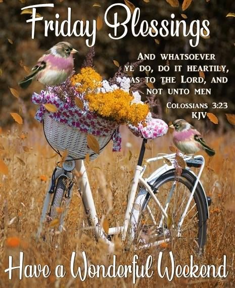 Religious Friday Blessings Quote Have A Wonderful Weekend