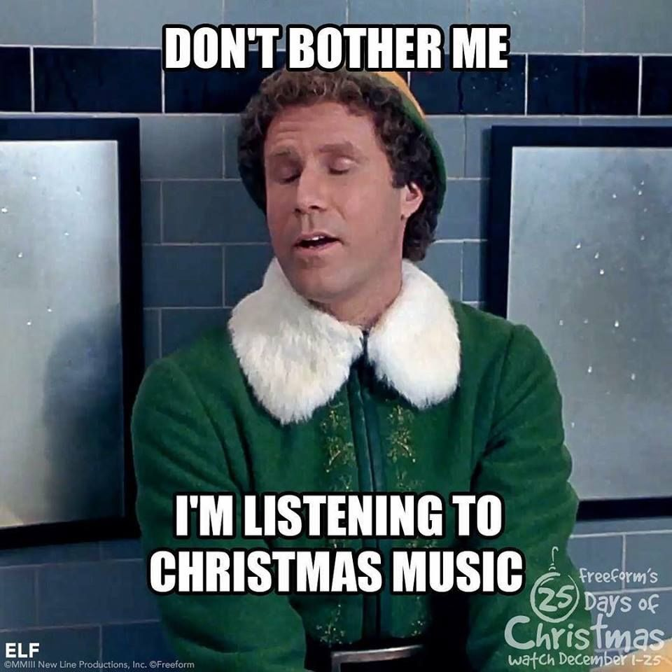 Christmas Music Meme.Don T Bother Me I M Listening To Christmas Music Pictures