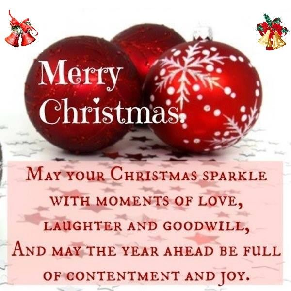 Red Ornament Merry Christmas Quote Pictures, Photos, and ...