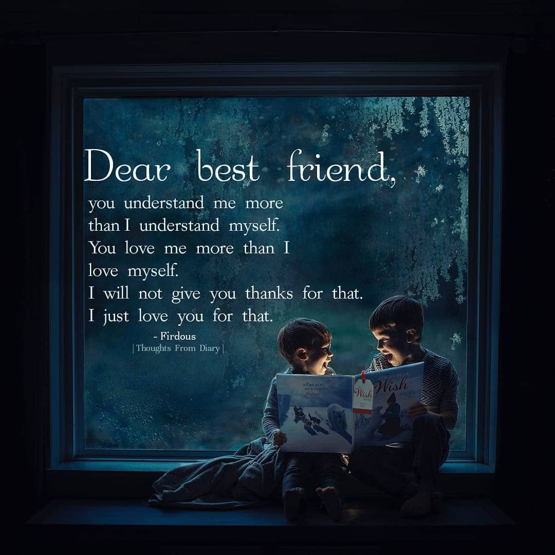 Dear Best Friend Quote Pictures, Photos, and Images for ...