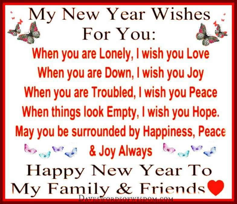 my new year wishes for you