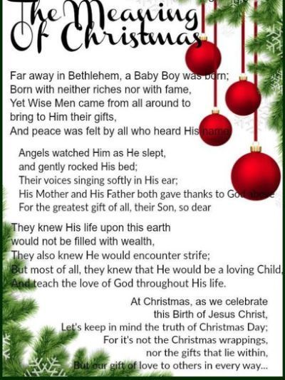 The Meaning Of Christmas Pictures