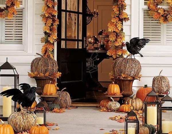 halloween autumn house decor