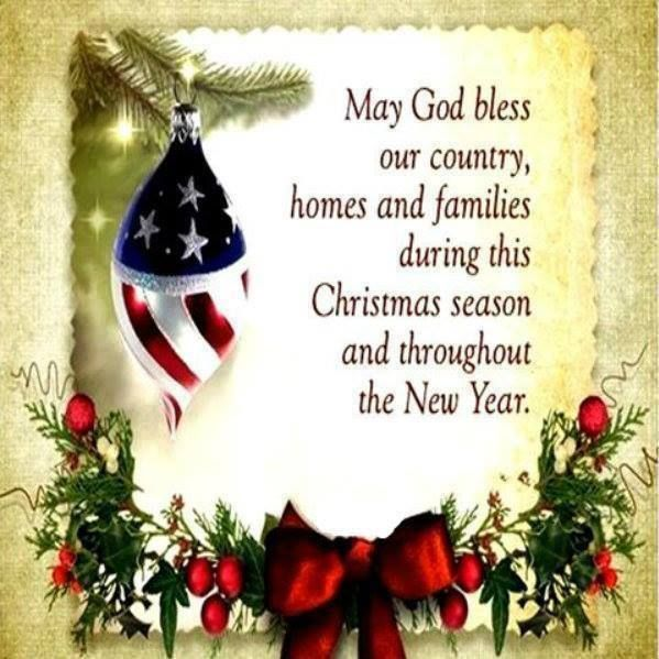 May God Bless Our Country, Homes And Families During This