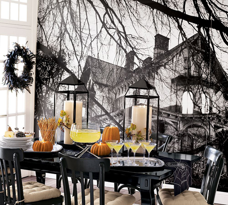 Halloween Ceremony Table Decor Pictures Photos and