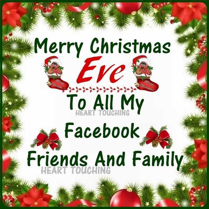 Christmas Eve Quotes Tumblr: Facebook Family And Friend Merry Christmas Eve Quotes