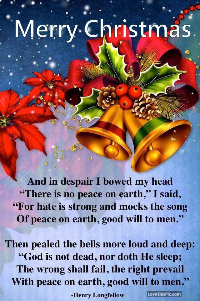 Merry Christmas Poem About God Pictures