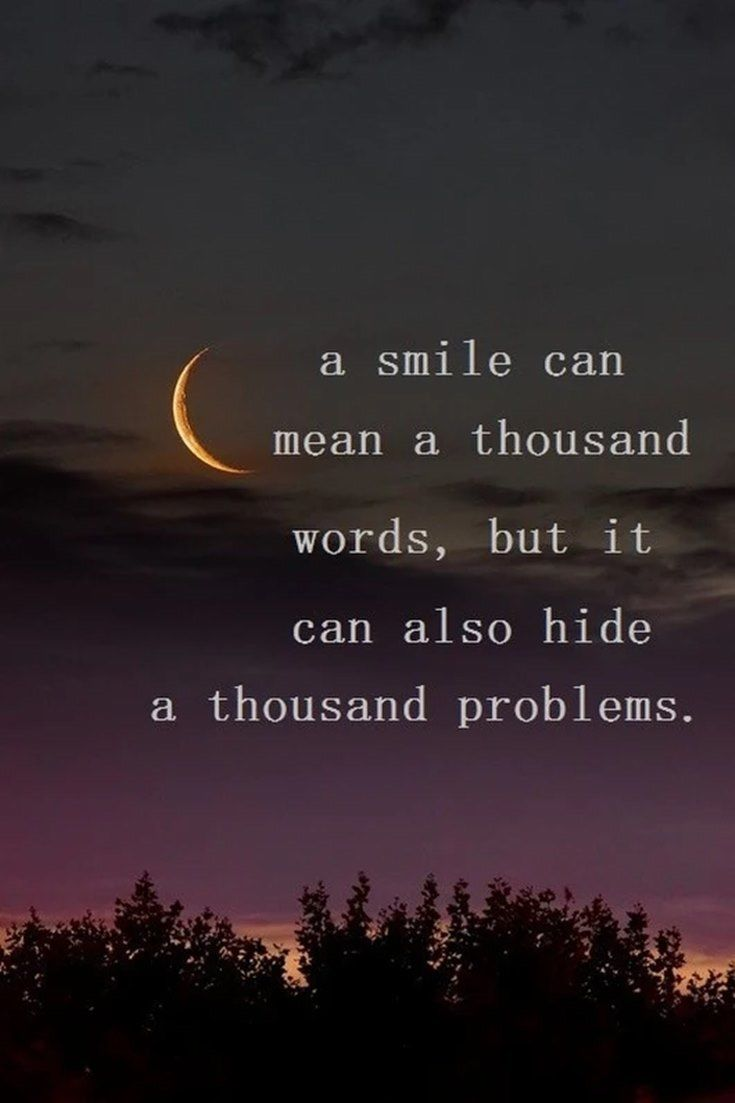a smile can mean a thousand words  but it can also hide a