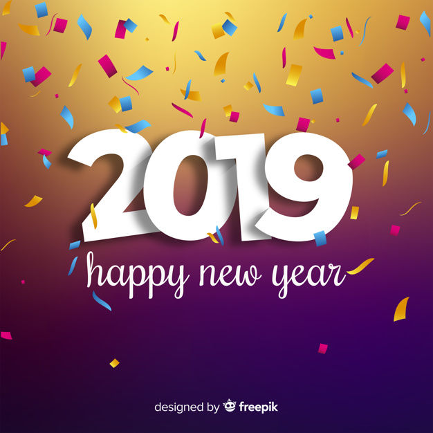 New Years Day Quotes 2019: Happy New Year 2019 Vector Pictures, Photos, And Images