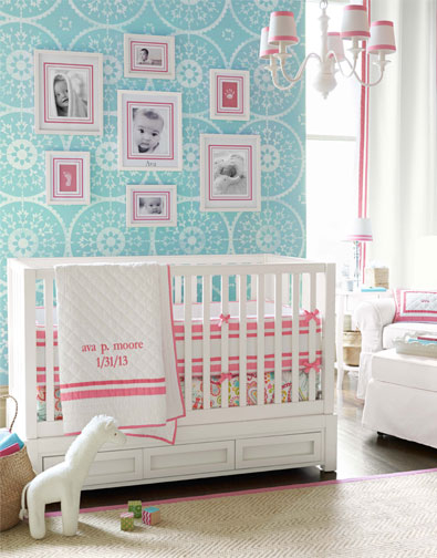Modern geometric nursery pictures photos and images for - Coin bebe chambre parents ...