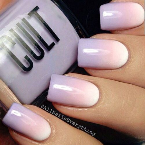 Lavender Ombre Nails Pictures, Photos, and Images for