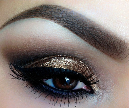 Gold Eye Makeup Pictures Photos And Images For Facebook Tumblr