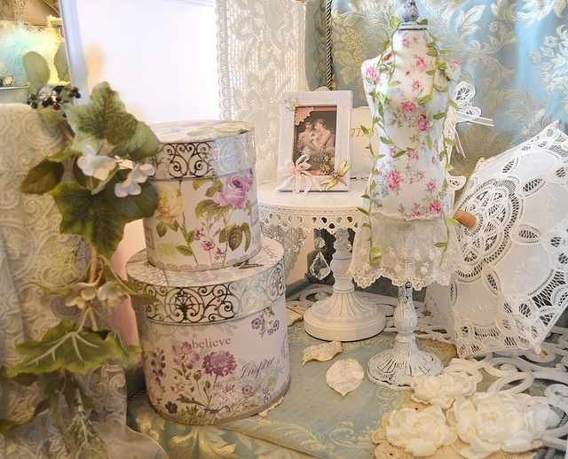Vintage chic pictures photos and images for facebook for Decoration jardin shabby