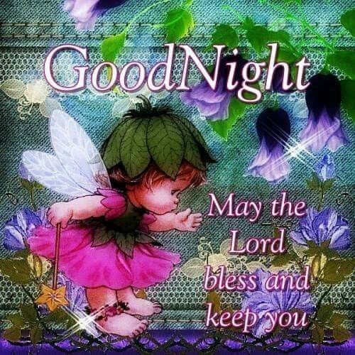 Fairy Good Night Blessing Pictures, Photos, and Images for