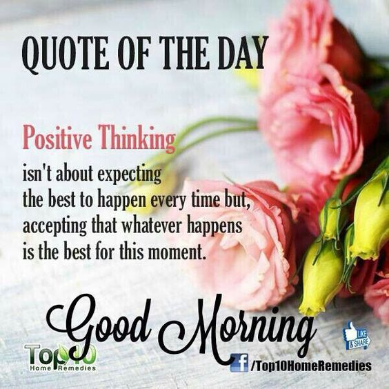 positive thinking morning quote pictures photos and images for