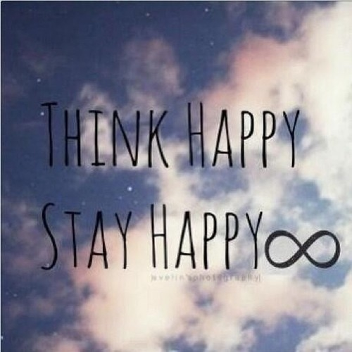 Happiness Quotes Tumblr Interesting Think Happy Stay Happy Pictures Photos And Images For Facebook