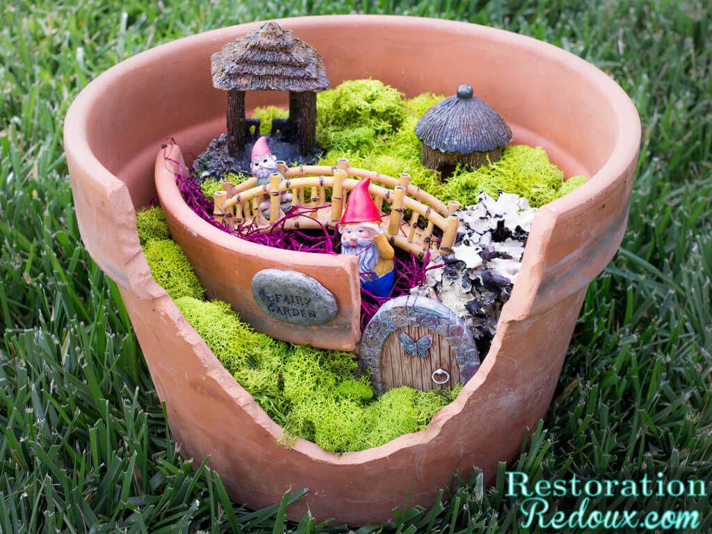 Fairy Garden Art Projects