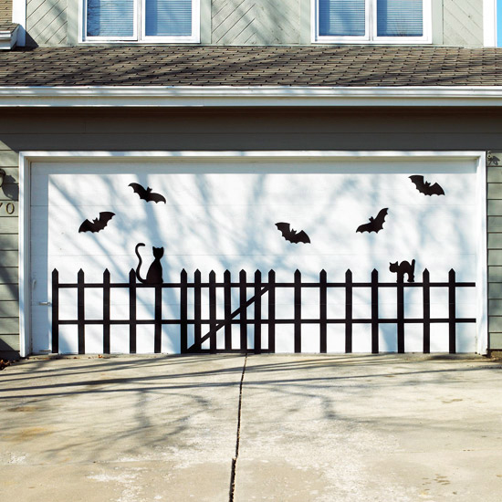 Bat And Cat Garage Door Design Pictures Photos And Images For