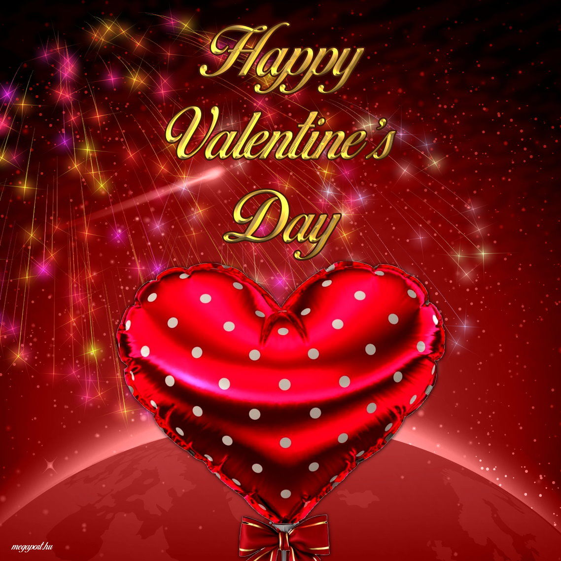 Sparkling Heart Happy Valentines Day Pictures, Photos, and