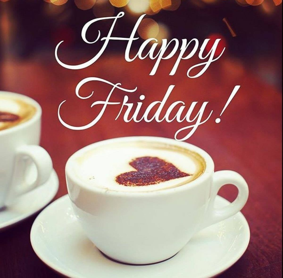 Heart Coffee Happy Friday Picture Quote Pictures Photos