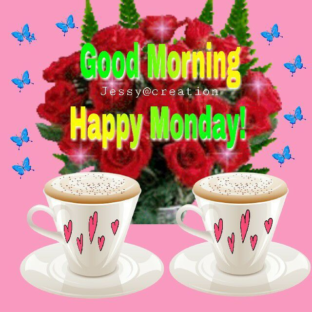 Sweet Coffee Good Morning Happy Monday Pictures, Photos ...