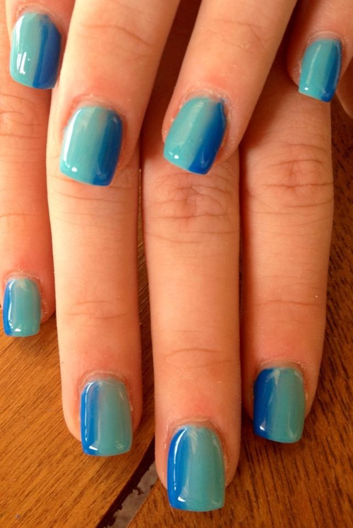 Mix Colour French Nails Pictures Photos And Images For Facebook