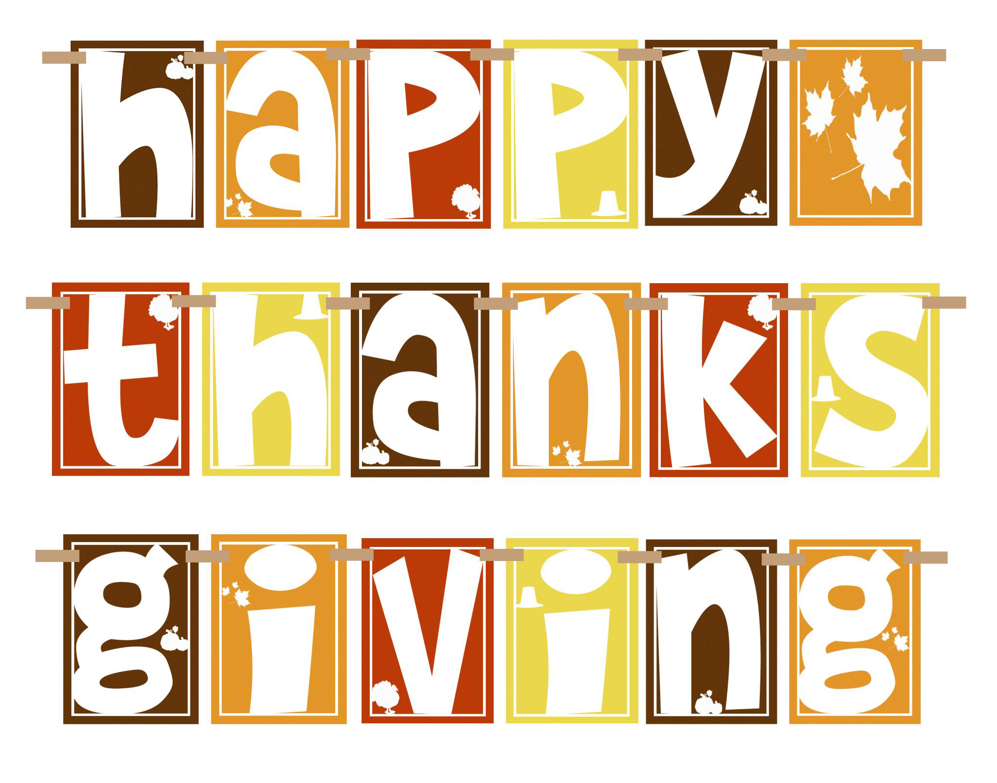 happy thanksgiving clip art - photo #7