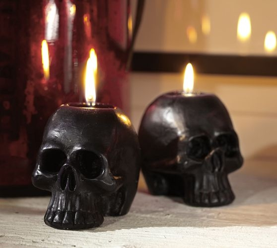 Black Skull Candles Pictures, Photos, And Images For