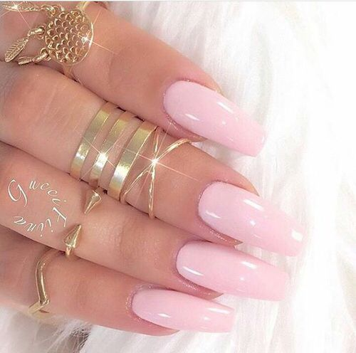 Beautiful Baby Pink Nails Pictures, Photos, and Images for