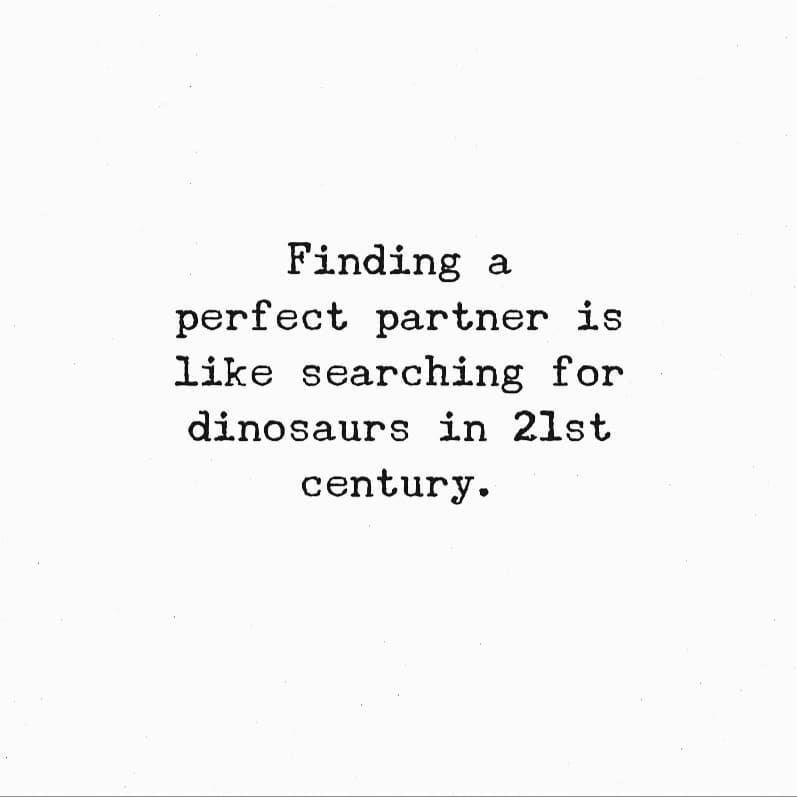Searching for the perfect partner