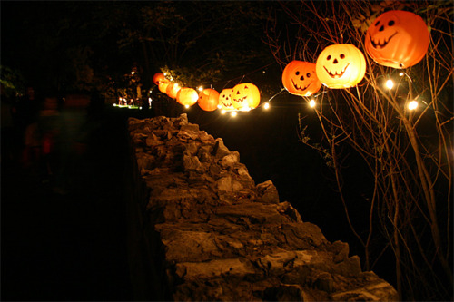 Halloween bridge